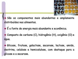 Glicose Frutose