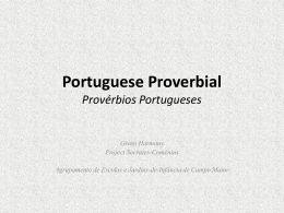 Portuguese Proverbial