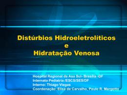Caso clínico: Distúrbios hidreletrolíticos e