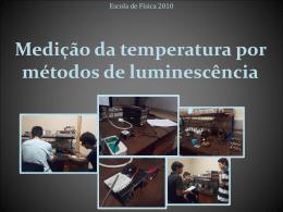 Medição da temperatura por métodos de luminescência