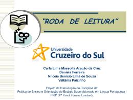 Apresentação_Projeto Roda de Leitura