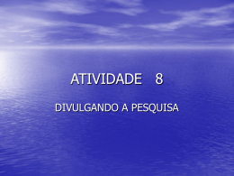 ATIVIDADE 8 - TIC2010ANAURILANDIA