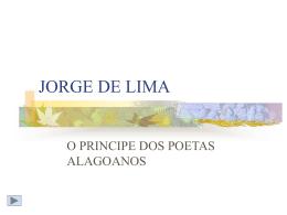 TERRA DO POETA JORGE DE LIMA