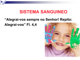 SISTEMA SANGUINEO - Enfermagem