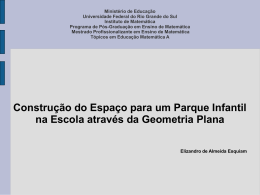 Pátio da Escola - elizandromestrado2010