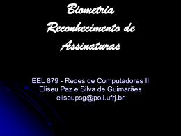 Biometria Reconhecimento de Assinaturas