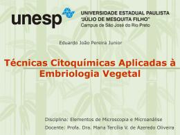 Técnicas citoquímicas aplicadas ao estudo da embriologia vegetal