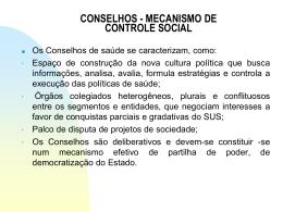 Conselho de Saúde - Escola de Saúde Pública do Paraná