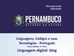 Linguagem digital blog