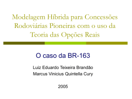 Real Options Valuation - IAG - Escola de Negócios PUC-Rio
