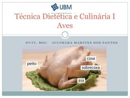 Técnica Dietética e Culinária Aves