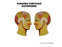 unip – psico jurídica – funções corticais superiores