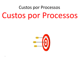 Custos por Processos