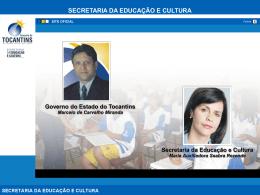 Slides Apresentação do Programa Mais Educação