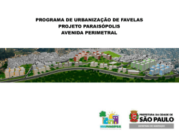 Projeto Paraisópolis