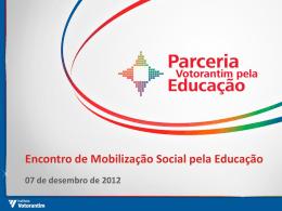 Instituto Votorantim - Mobilização Social pela Educação