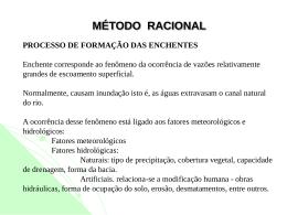 método racional método racional