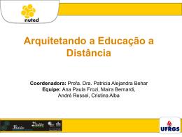 Arquitetando a Educação à Distância
