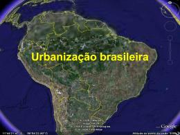 Urbanização brasileira
