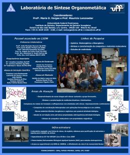 Laboratório de Síntese Organometálica LSOM