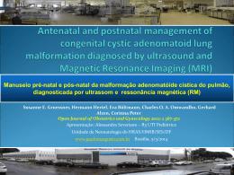 Manuseio pré-natal e pós-natal da malformação adenomatóide