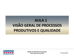 competitividade e estratégias de produção