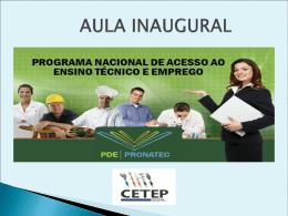 Detalhes do programa - Educação