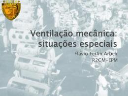 Aula ventilação mecânica situações especiais