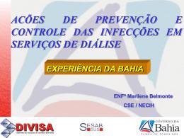 Dra. Marilene Soares da Silva Belmonte (Sesab)
