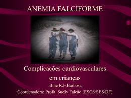 Complicacões cardiovasculares em crianças (slide)