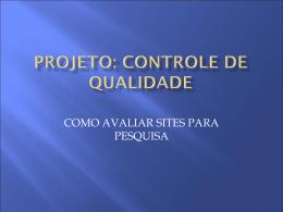 projeto - Secretaria Municipal de Educação