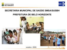orçamento 2010 - Câmara Municipal de Belo Horizonte