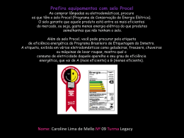 Caroline Lima-Legacy ` Dica consumo consciente `.