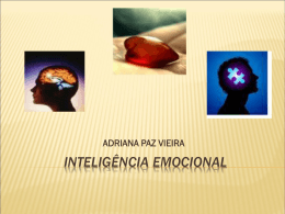 Palestra: inteligência emocional