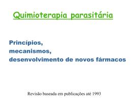 Quimioterapia parasitária