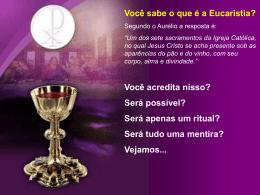 Eucaristia - Material de Catequese