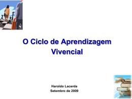 O Ciclo de Aprendizagem Vivencial