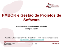 CIn Institucional (Português) - Centro de Informática da UFPE