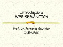 0- Introdução Web Semantica
