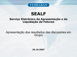 SEALF - Febraban
