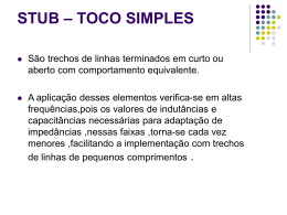 stub – toco simples