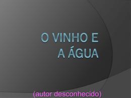 O_Vinho_e_Água