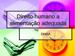 A evolução do conceito de SAN, no Brasil e no mundo, aproxima