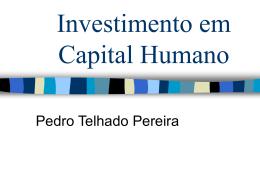 Capital Humano - Universidade da Madeira