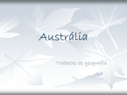 Austrália - profmarlene