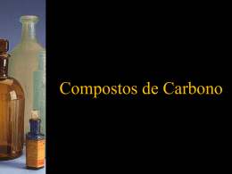 Compostos de Carbono