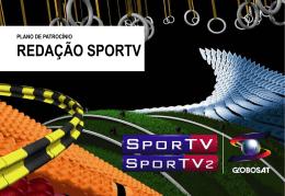 redação sportv plano de patrocínio