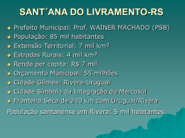 SANT´ANA DO LIVRAMENTO-RS