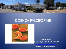 Anemia falciforme - Paulo Roberto Margotto