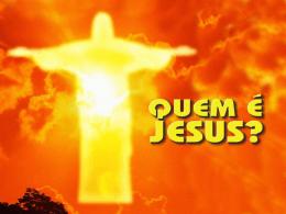 Quem é Jesus? - Material de Catequese
